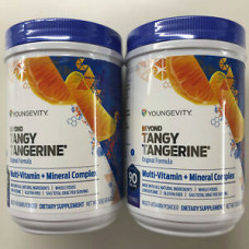 Youngevity Dr. Wallach Beyond Tangy Tangerine BTT 1.0 (Twin Pack)